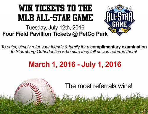 Win Tickets to the MLB All-Star Game Contest Flyer