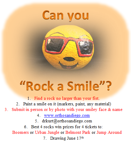 Rock A Smile Contest Flyer
