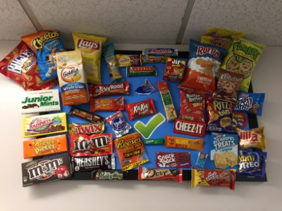 Array Of Orthodontist Approved Snacks & Candy